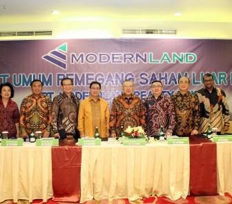 Gelar Pertemuan dengan Pemegang Saham, PT Modernland Realty Tbk. Setujui Perubahan Susunan Anggota