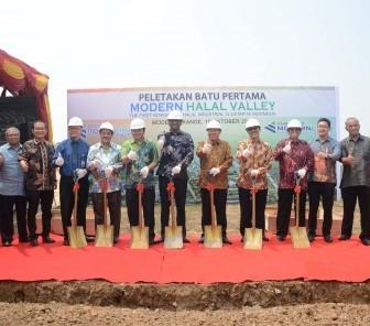 ModernCikande Resmikan Lokasi Modern Halal Valley, Cluster Halal Terbesar Pertama Di Indonesia