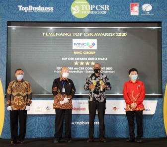 PT Modernland Realty Tbk. Raih Penghargaan TOP CSR Awards 2020