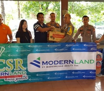 Modernland Peduli Korban Tsunami Selat Sunda
