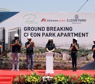 PT Mitra Sindo Sukses Ground Breaking Cleon Park Apartment di Jakarta Garden City