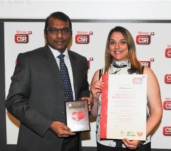 Modernland Meraih CSR Award di London